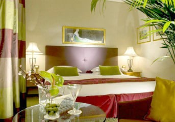 7 nights at centrally-located 4-star hotels
