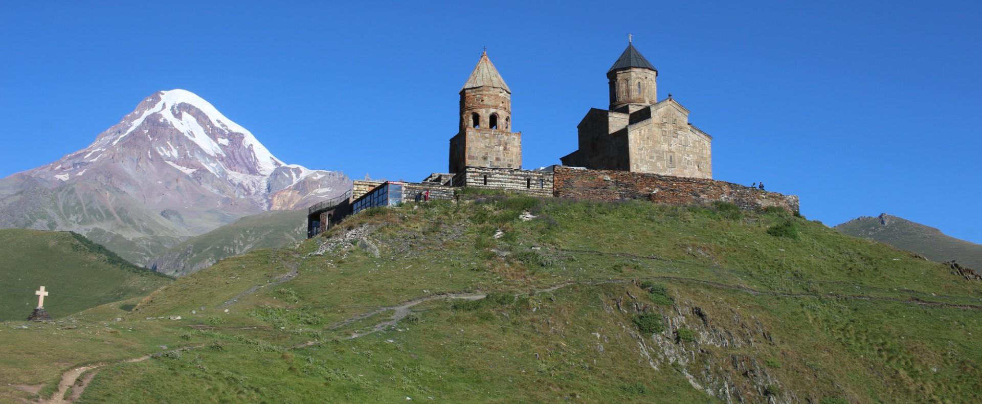 Gergeti Trinity Church, Kazbeg