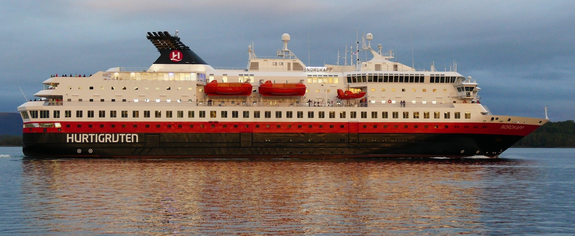Hurtigruten coastal voyage Bergen to Kirkenes, Norway