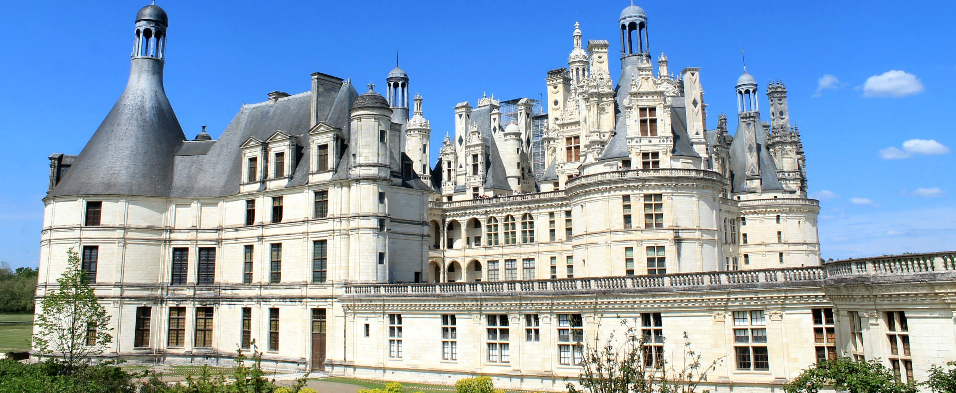 Loire valley Chateau Chambord