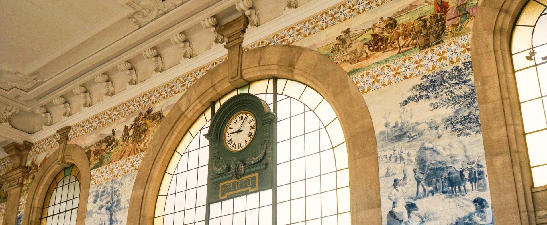 Sao Bento Rail Station, Porto
