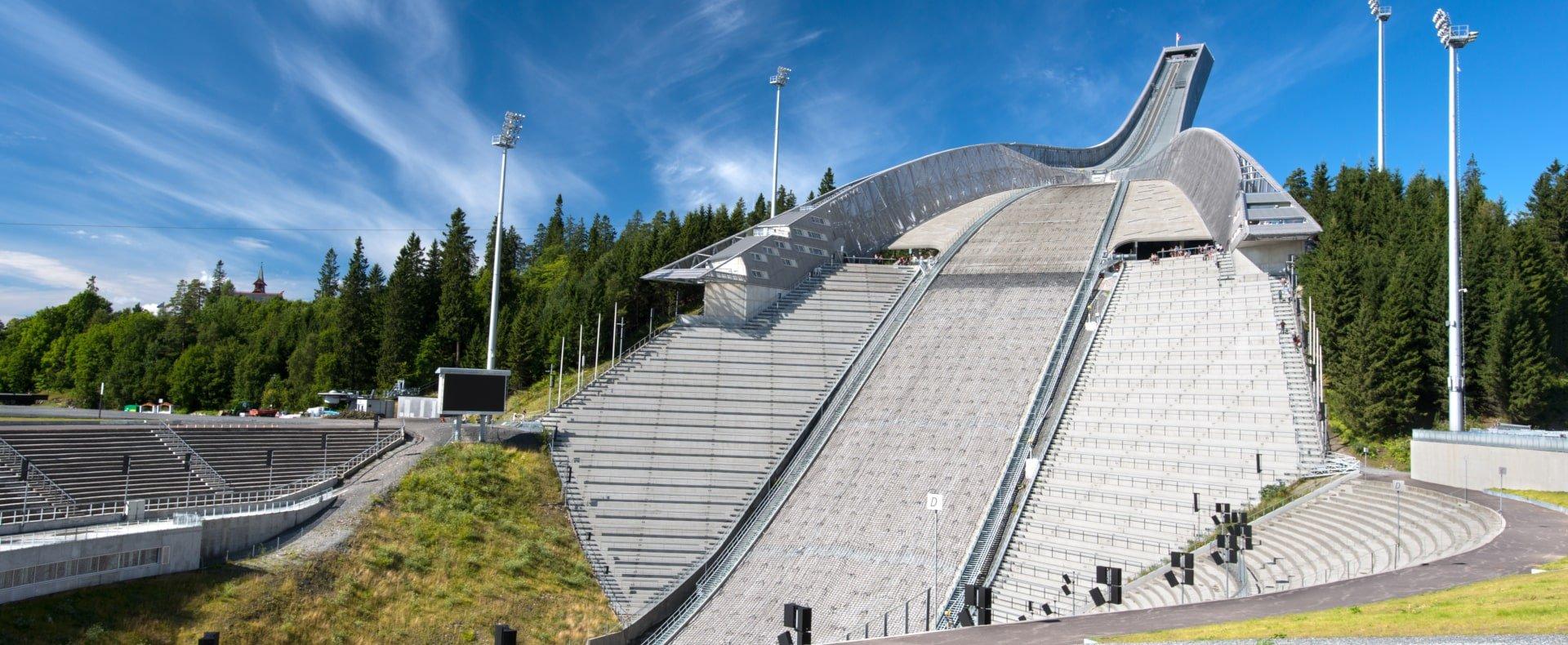 Ski Jump Museum, Oslo, Norway