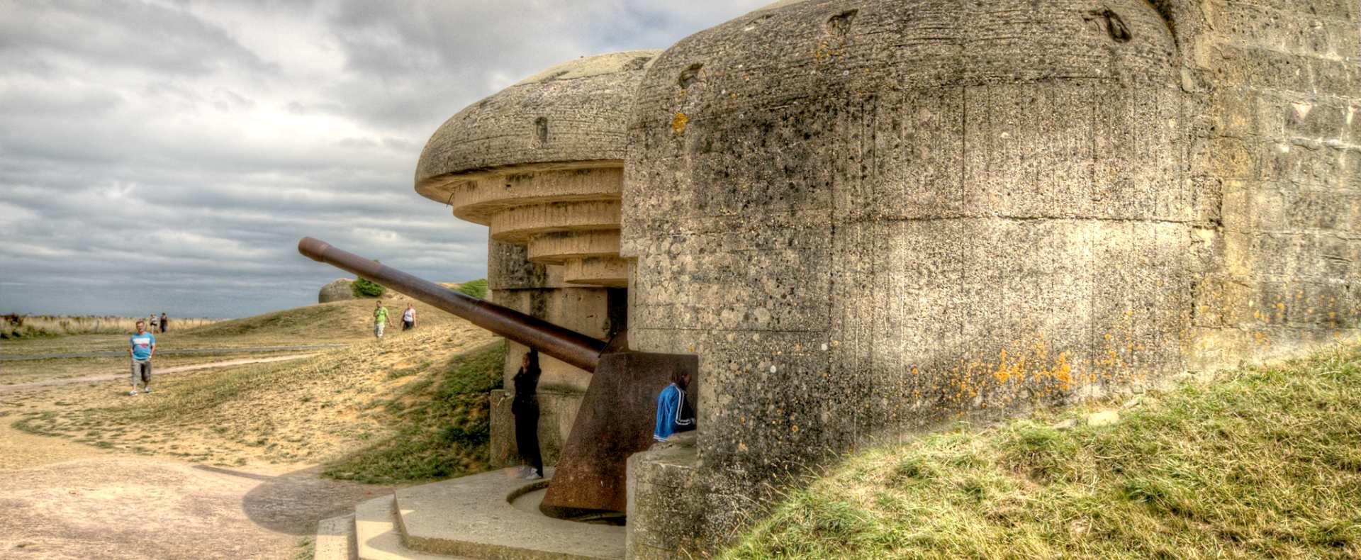 Longues artillery battery