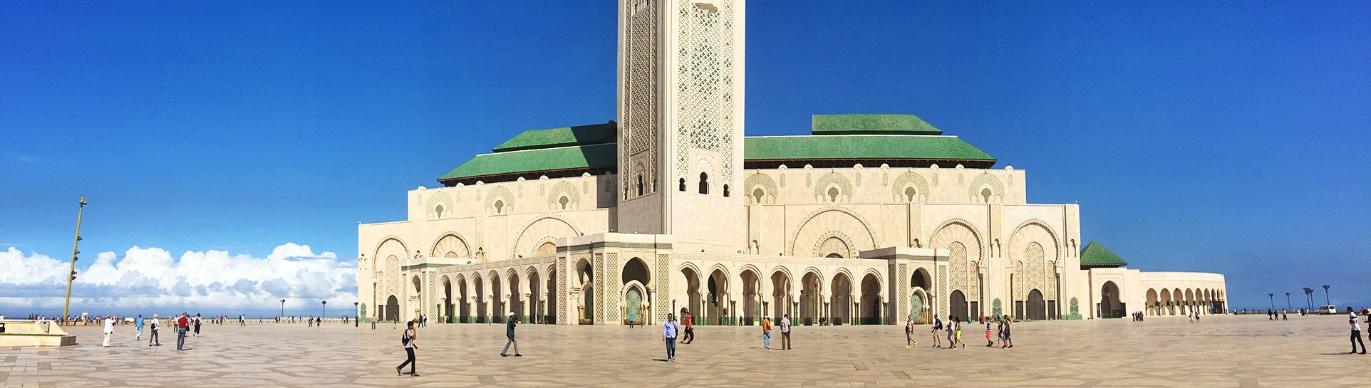 Hassan II Mosque - the second largest religious building in the world