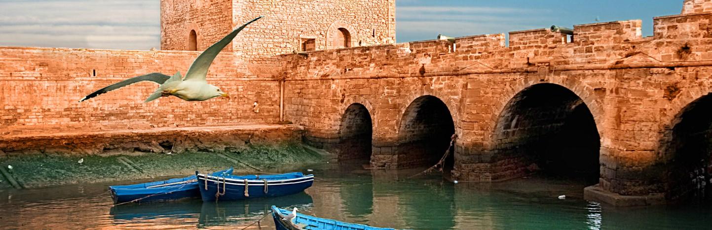 Jewel of the Atlantic - coastal town of Essaouira