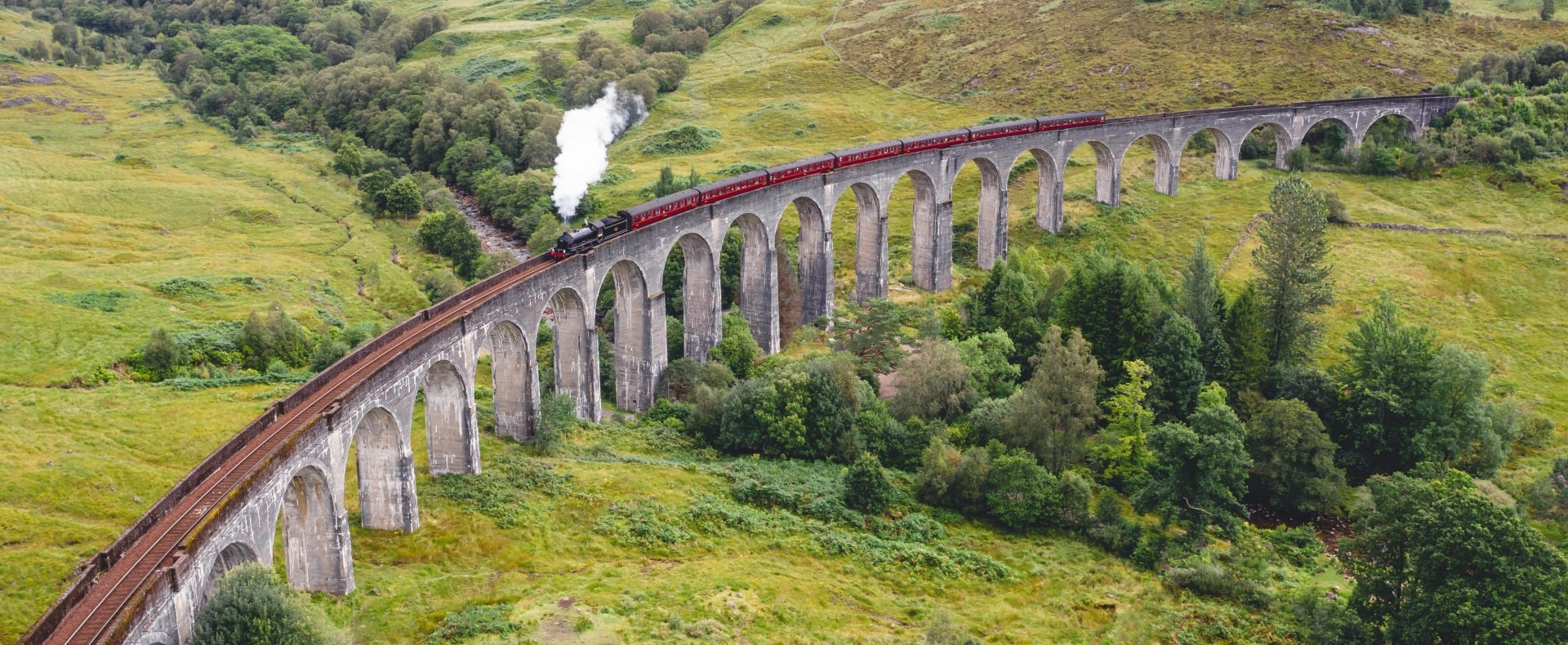 Jacobite Steam Train Ride Experience Gallery