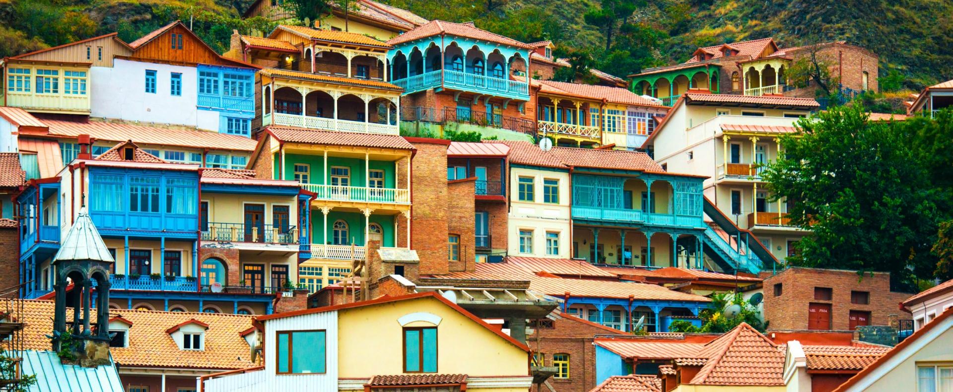 Tbilisi, capital of Georgia