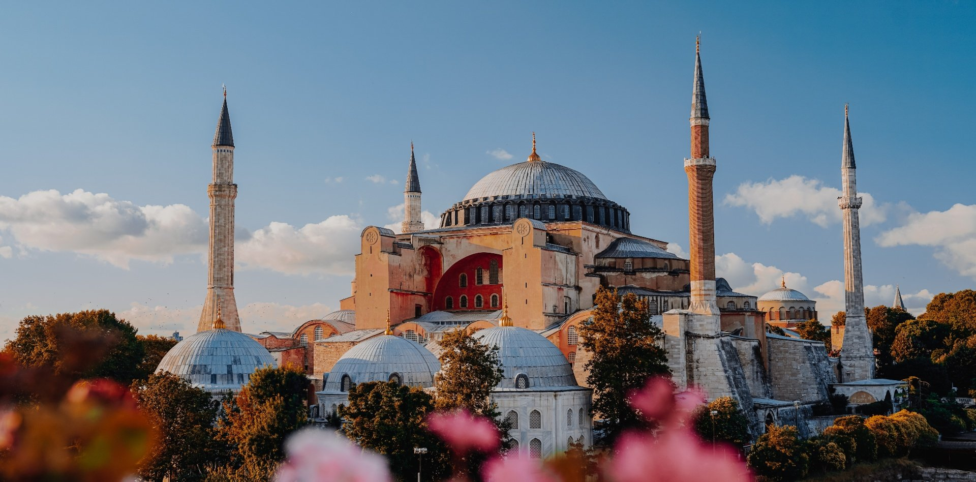 The Holy Hagia Sophia Grand Mosque