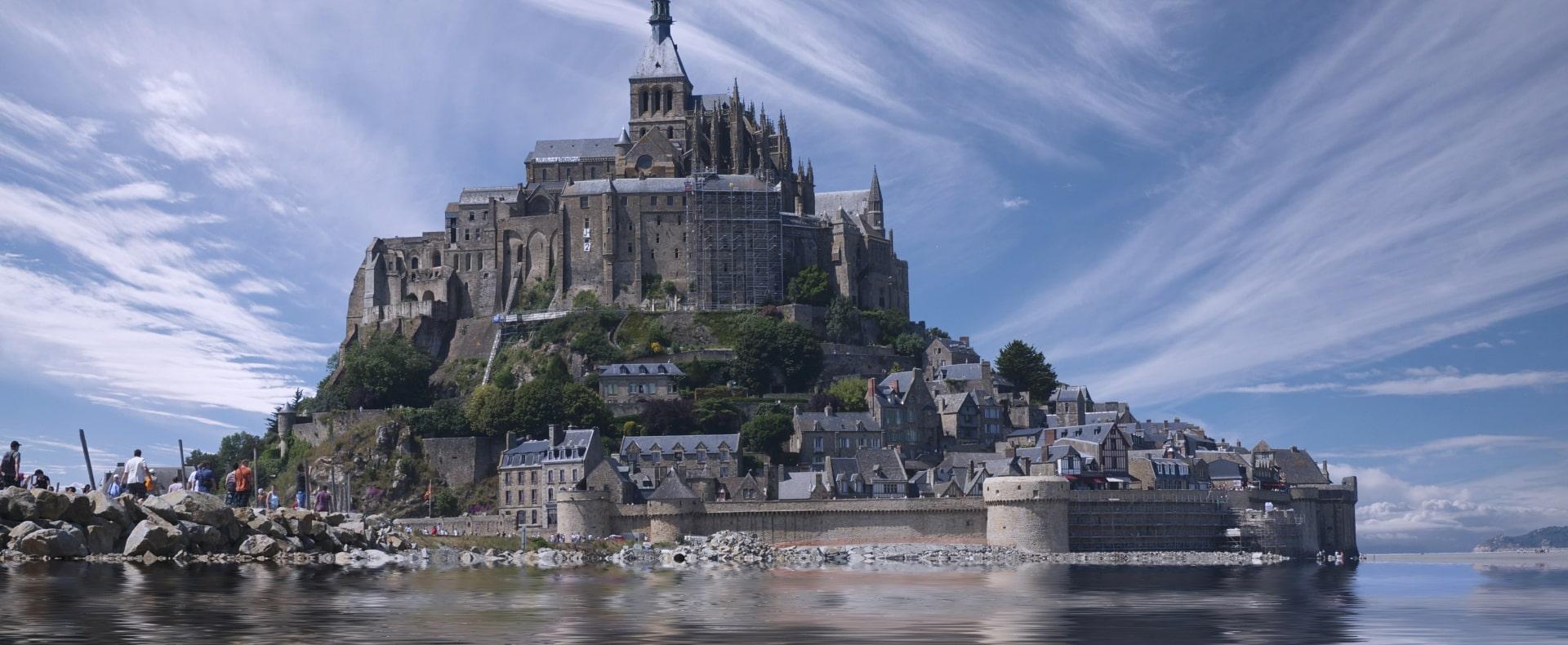 Mont Saint Michel Island