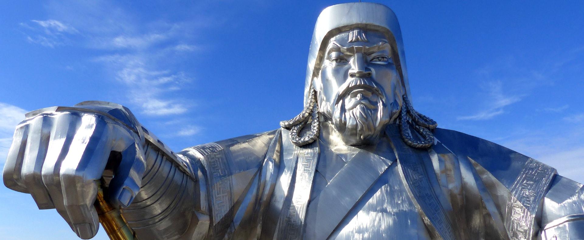 Mongolia, Genghis Khan Statue