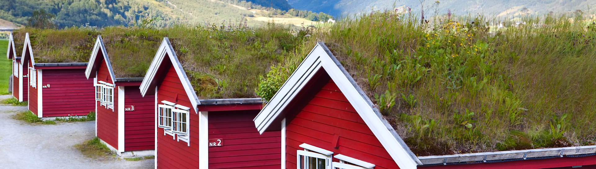 See the most famous Norwegian hallmarks, including iconic red wooden houses on your Norway tour