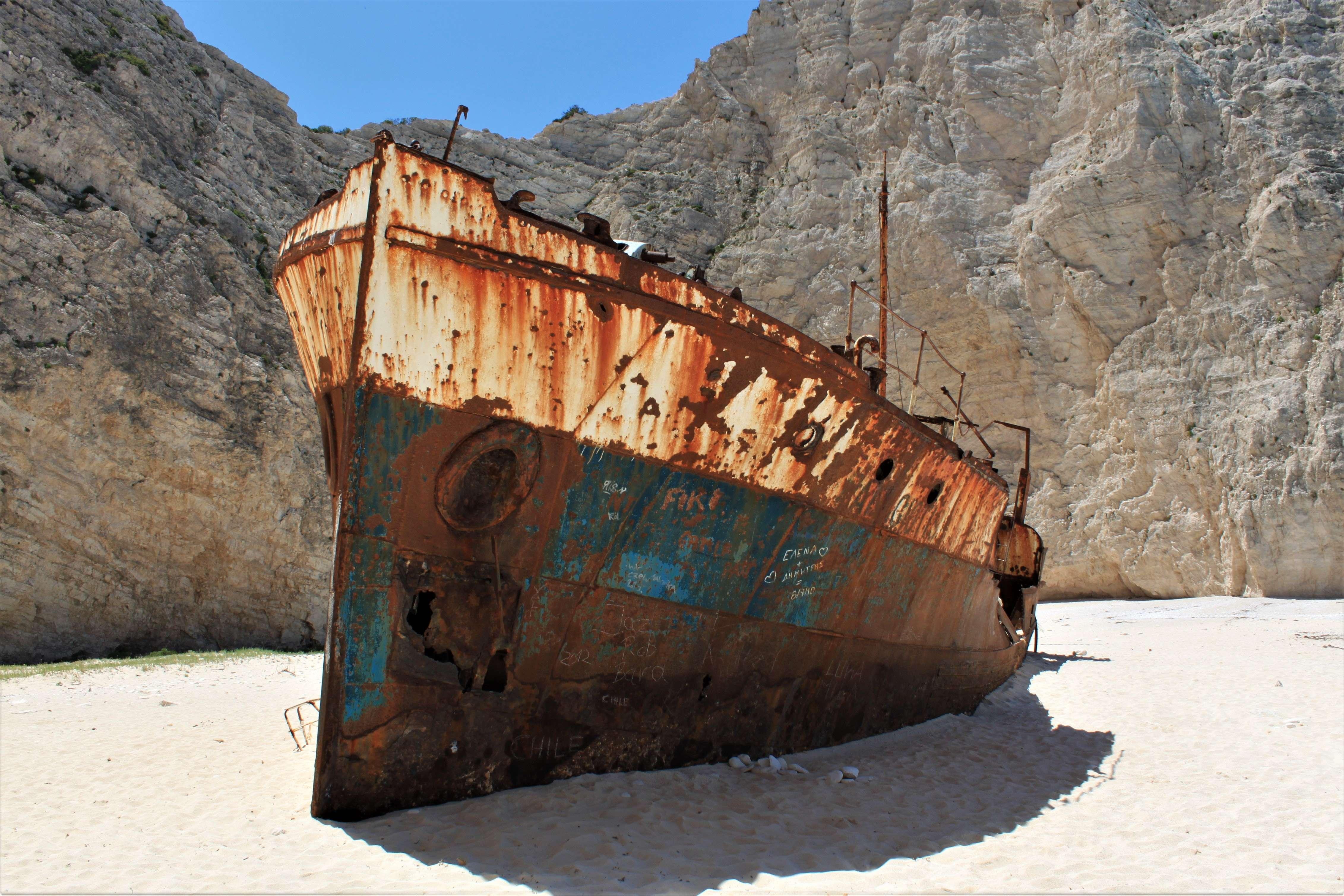 Navagio Ship