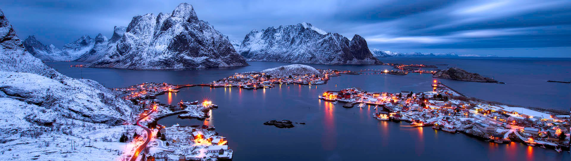 Explore the picturesque sceneries of winter Norway on your Scandinavia tour