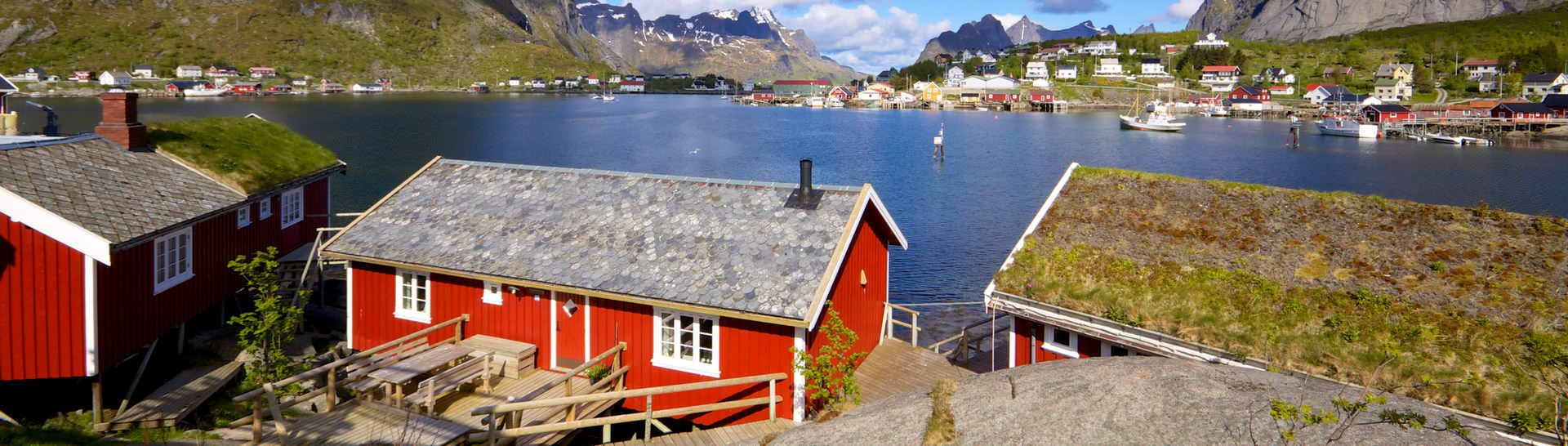 Visit traditional fishing villages of Norway to slow down and soak in some of the most picturesque fjord views