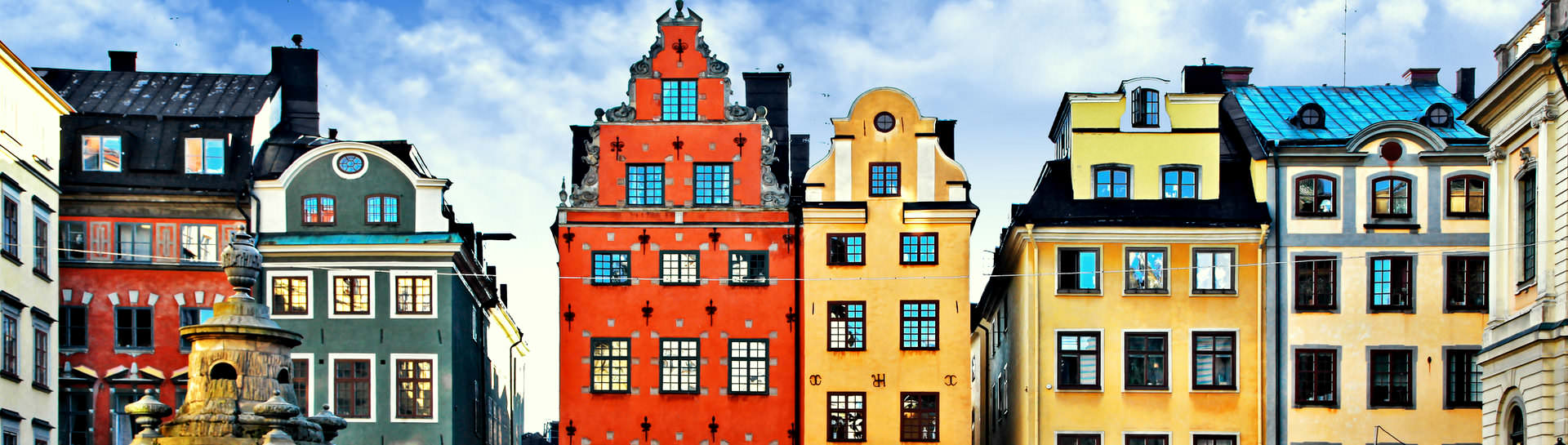 Take a break at one of the cozy cafes at Stortorget - the heart of the Old Town of Stockholm