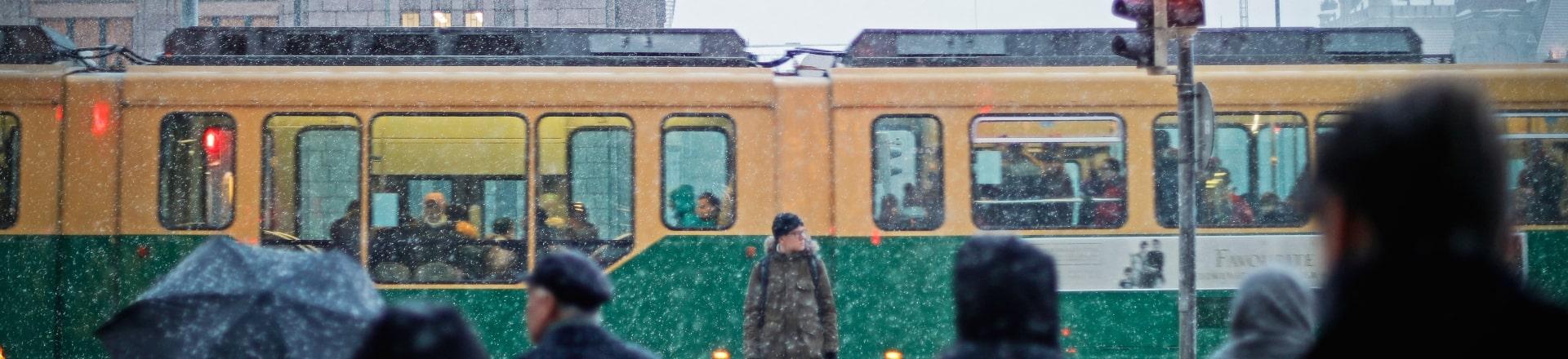 Helsinki Tram Ride