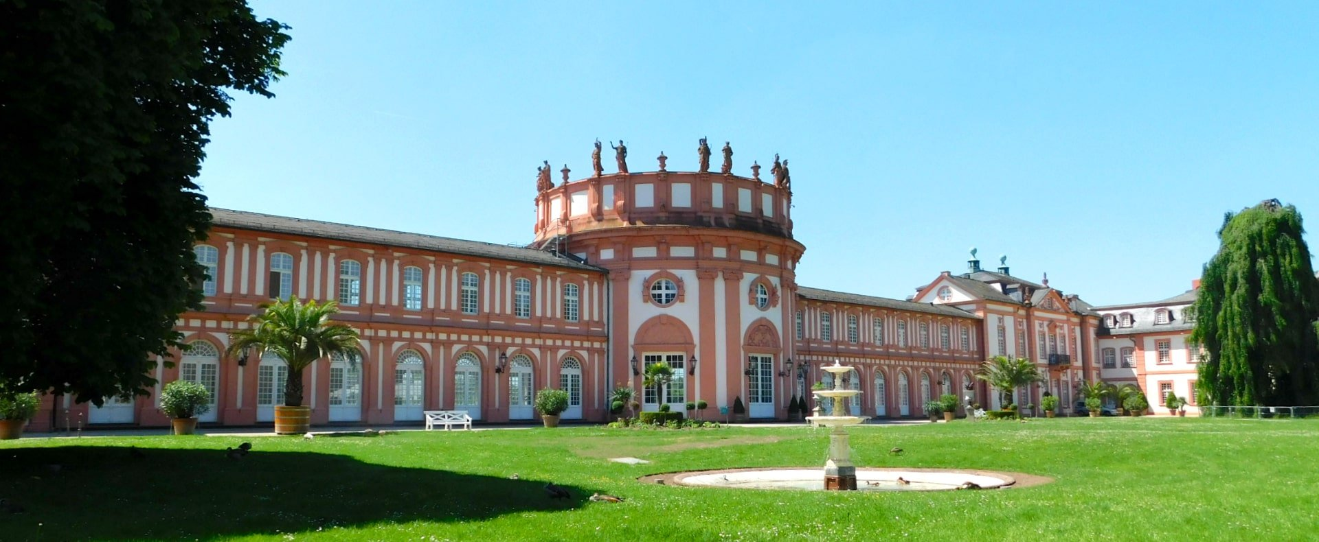 Wiesbaden, Biebrich Schloss, Germany