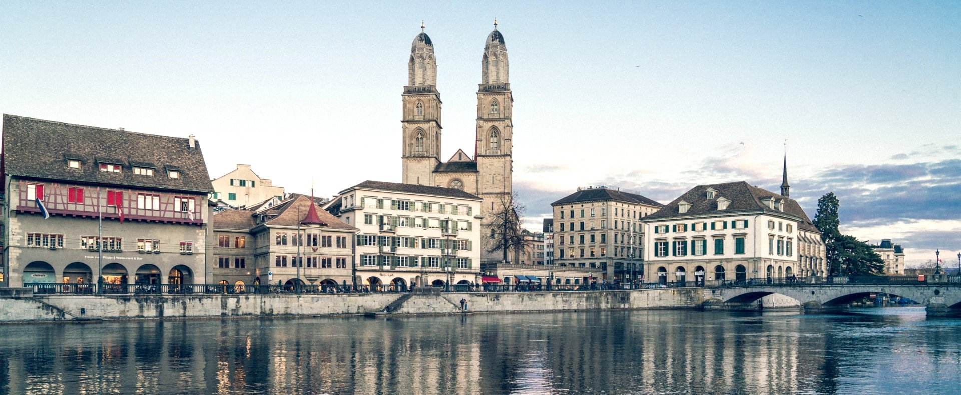 Zurich Grossmunster Church, Switzerland