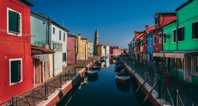 Murano and Burano during a trip to Italy
