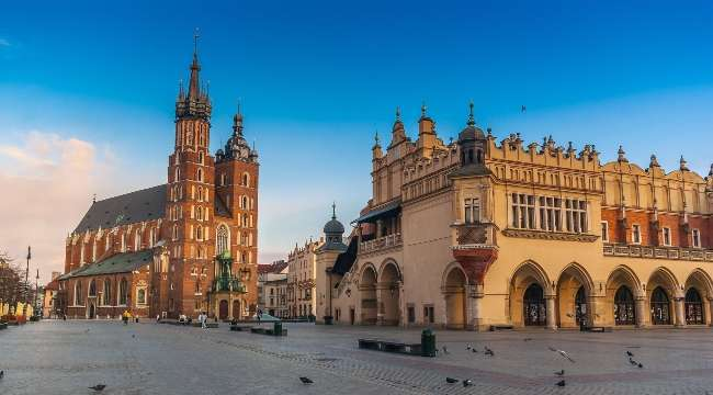 The Main Market Square, Krakow