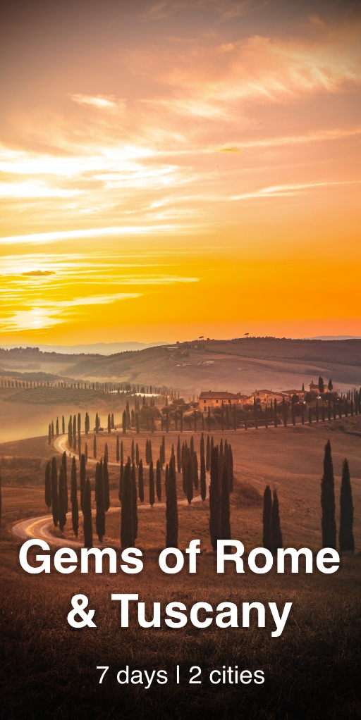 Gems of Rome & Tuscany