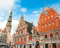 See the beauty of The Baltic capitals: Vilnius, Riga and Tallinn