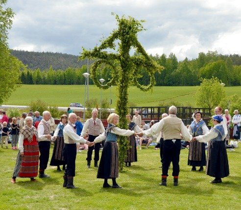 Midsummer Viking Festival in Sweden