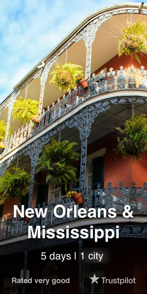 New Orleans & Mississippi Tour