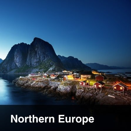 Tours to  Northern Europe