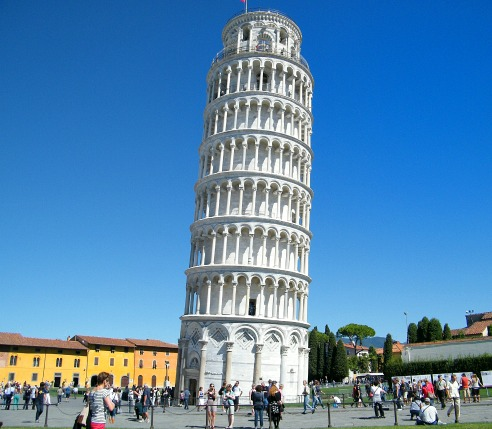 Tour to Pisa tower, Italy