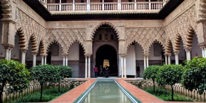 Real Alcazar of Seville, Spain