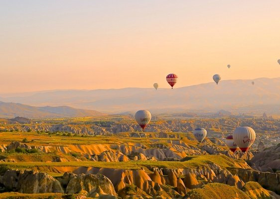 Balloons in Turkey