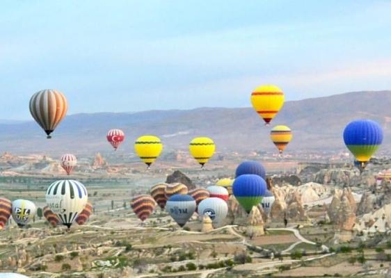 Balloons in turkey