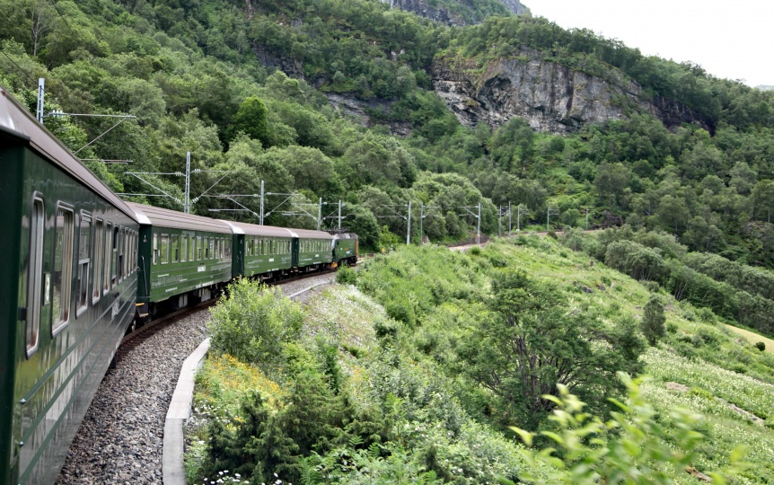 Norway Rail Route