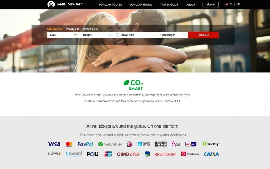 Rail Ninja Website
