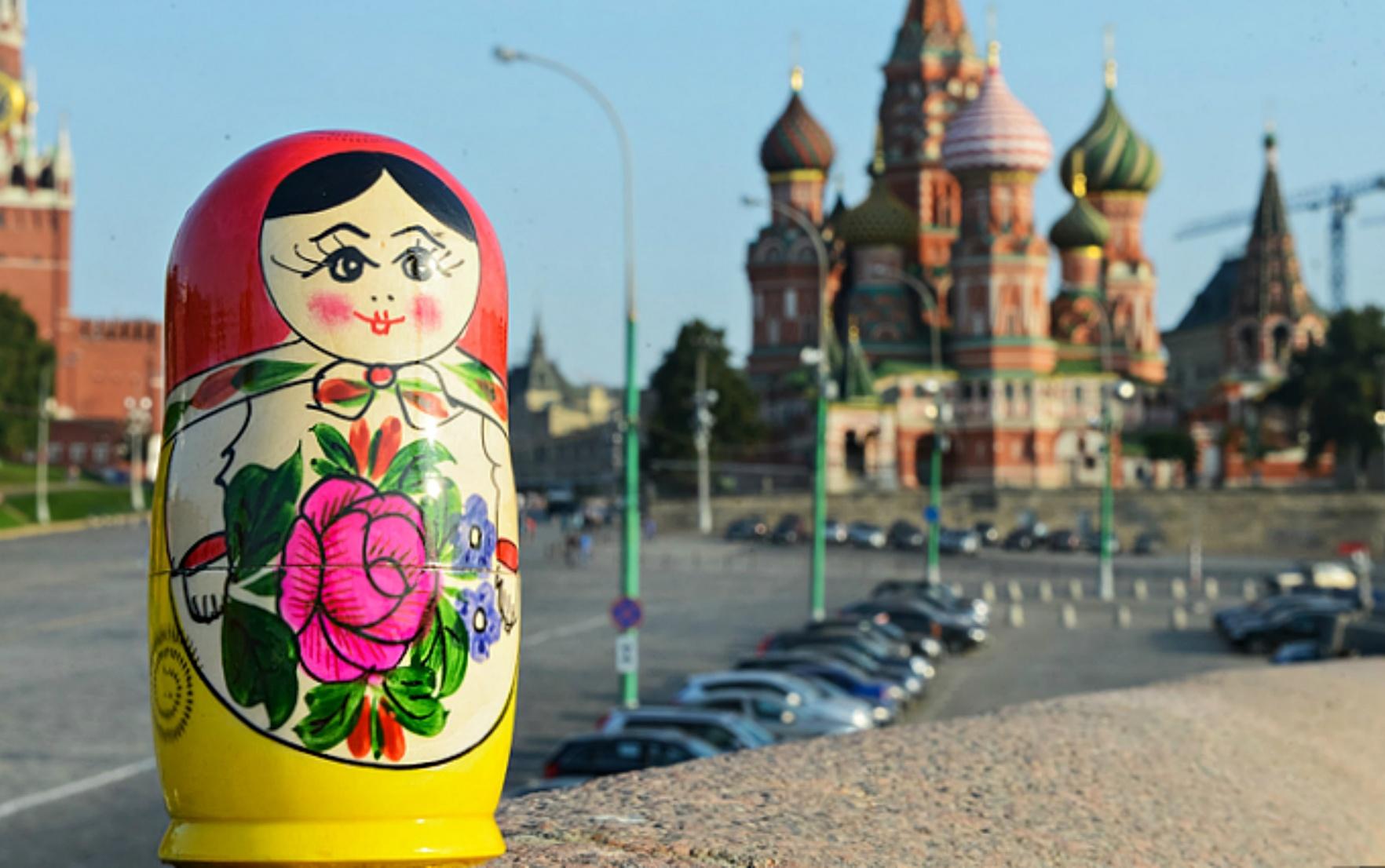 Symbols of Russia I Matryoshka Doll