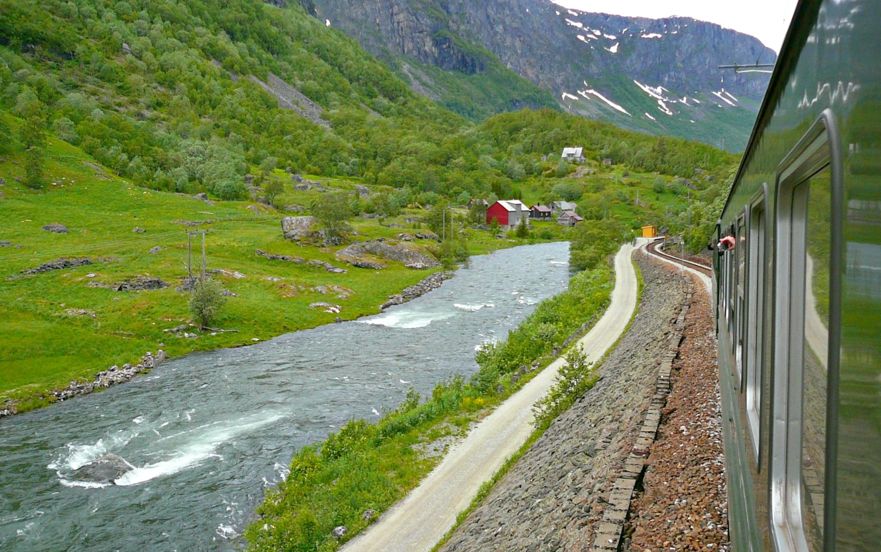 Trains in Norway