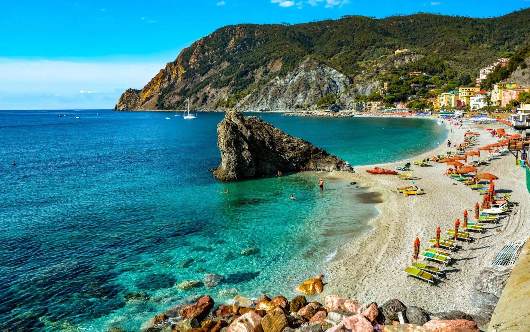 Italian Beach, Monterosso, Cinque Terre
