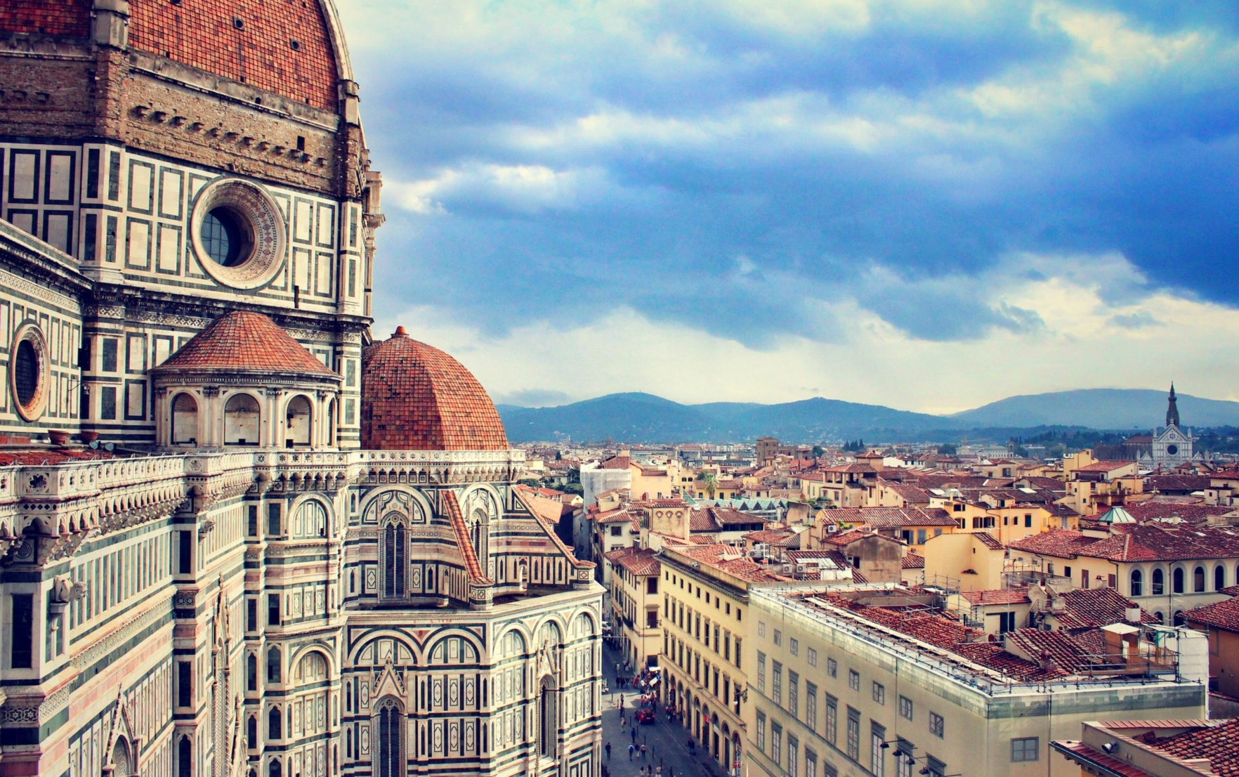 Florence Cathedral and Old Town
