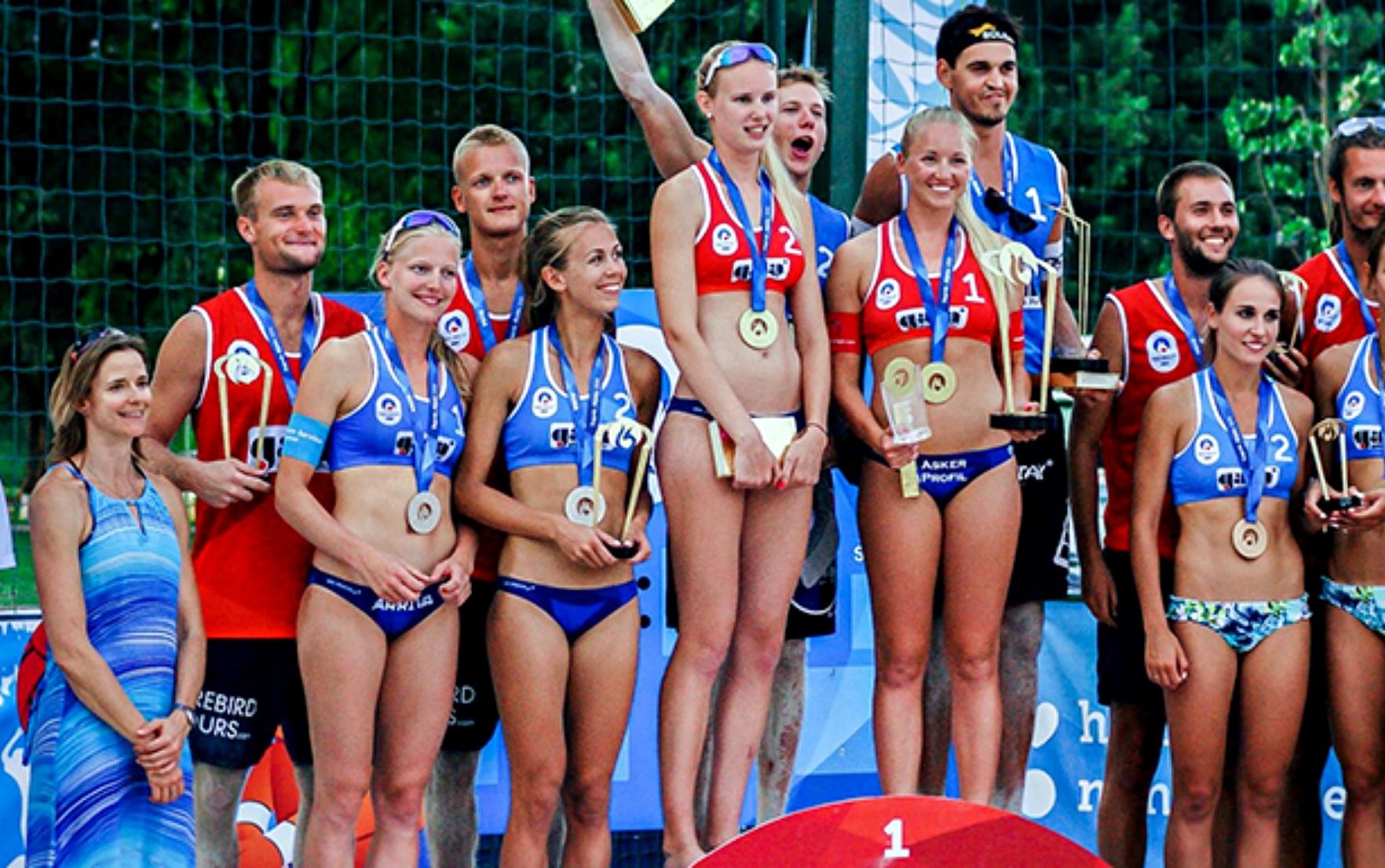 Volleyball Tournament Winners