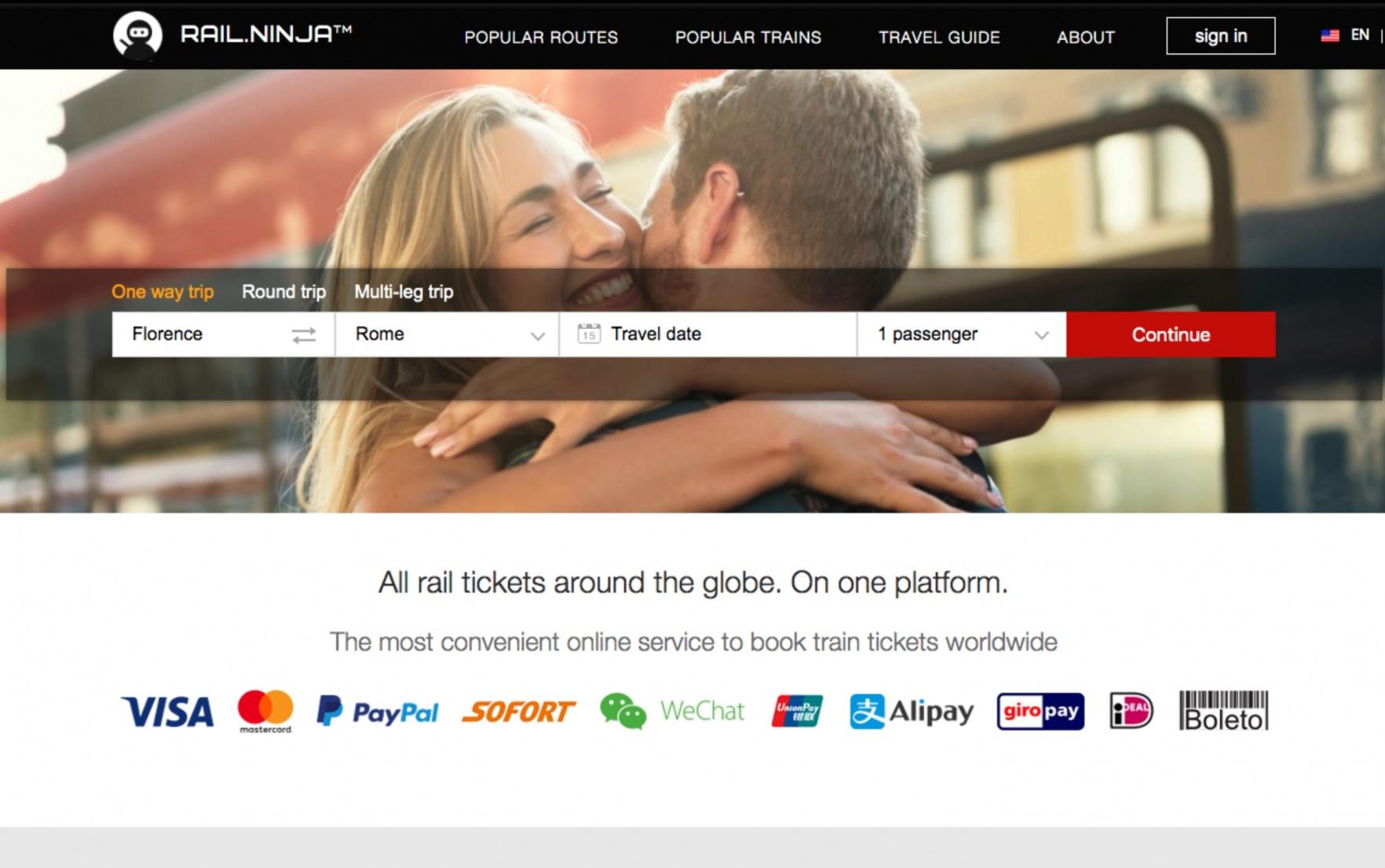 Rail Ninja Train Ticket Booking Platform