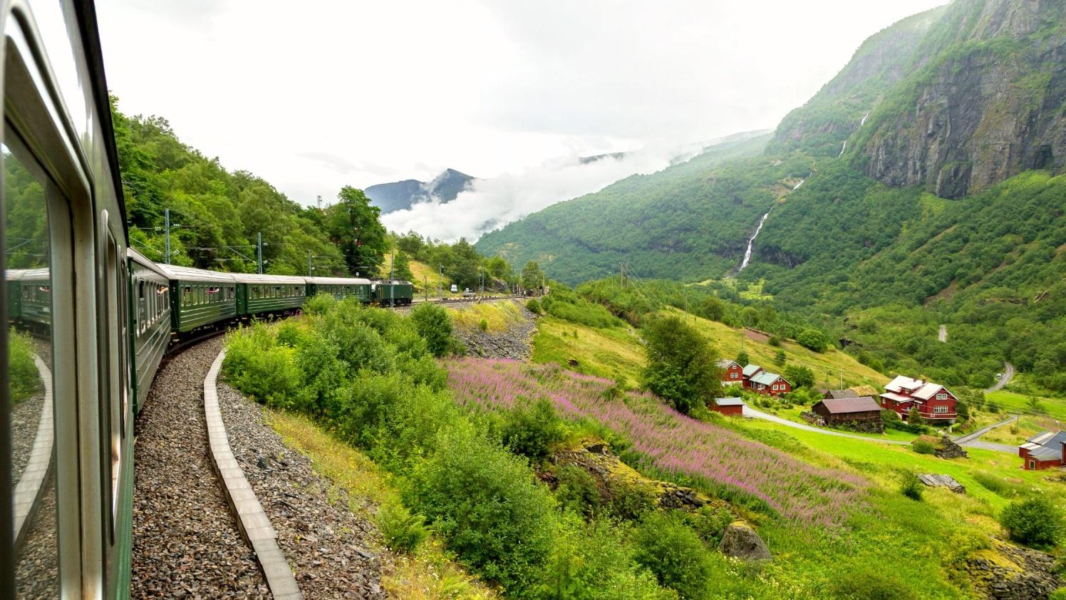 Flamsbana Train Connection