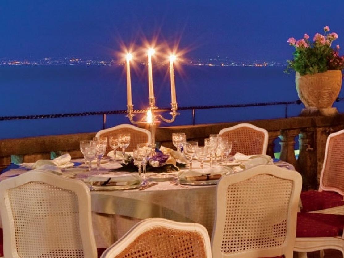 Terrazza Bosquet Restaurant, Sorrento