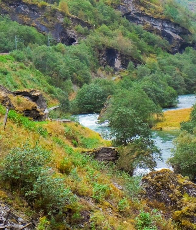 World's Most Scenic Train Journey On Norwegian Tracks