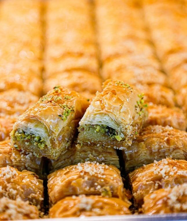 Baklava Turkish food