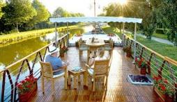 Luxury Barging in France