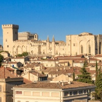 For the whole 14th century Avignon was the capital of papacy