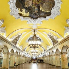 Moscow Metro, Russia