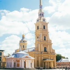 Peter and Paul Fortress, Saint Petersburg, Russia