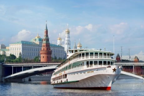 Volga Dream Platinum Moscow - St. Petersburg